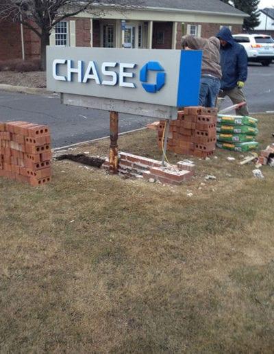 Brick-sign-repair-Bloomfield-mi