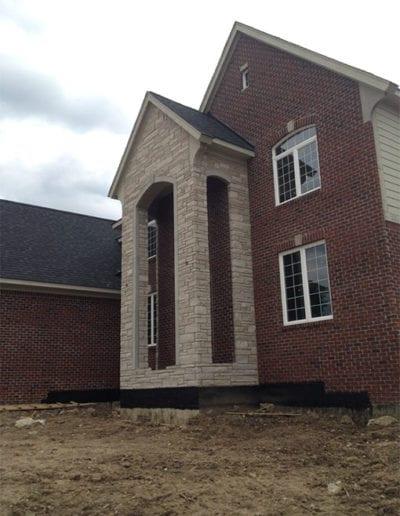 New-home-masonry-Troy-Michigan